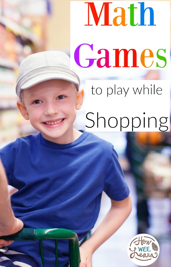 The best math games for preschoolers to play, plus it keeps them busy at the mall!