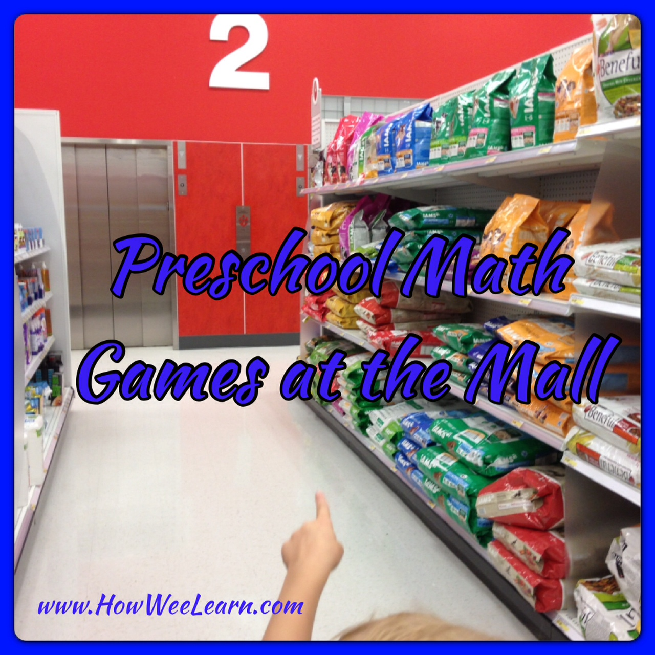Preschool Games: Math Games at the Mall - How Wee Learn