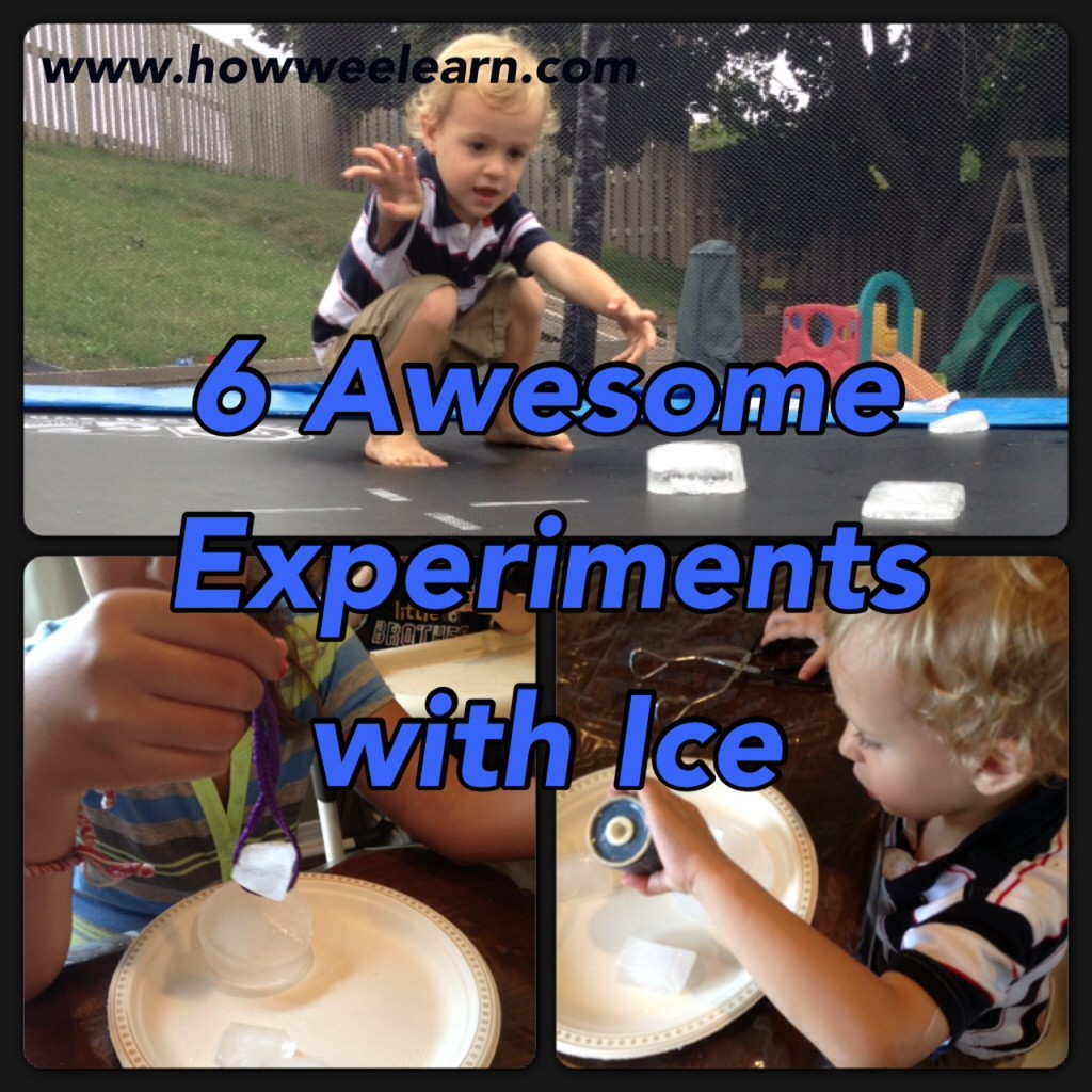 science experiments with ice