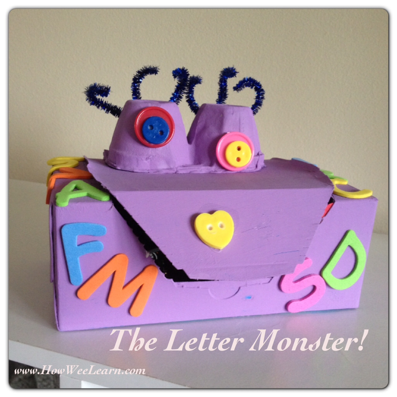 Alphabet Games For Preschoolers The Letter Monster How Wee Learn