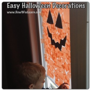 Easy Preschool Halloween Decorations