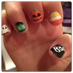 Halloween Nail Art Simple How-To of 5 Creative Designs