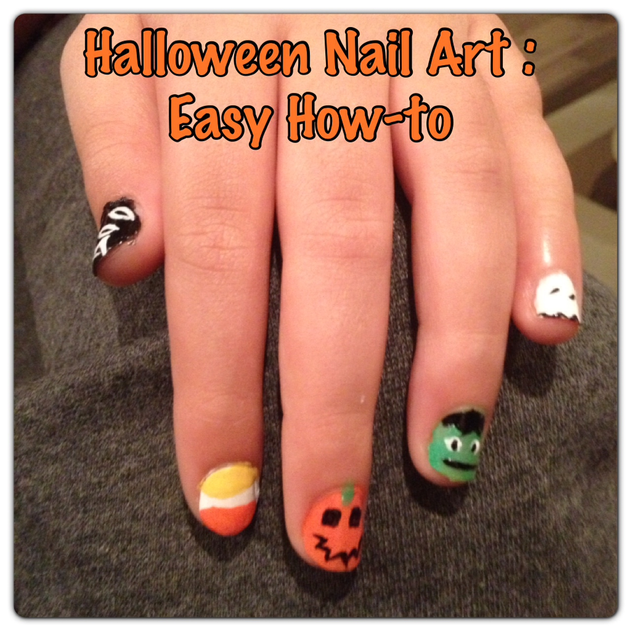 Halloween Nail Art: A simple How-to for 5 Fun Designs - How Wee Learn