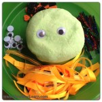 Halloween Party Crafts playdough monsters