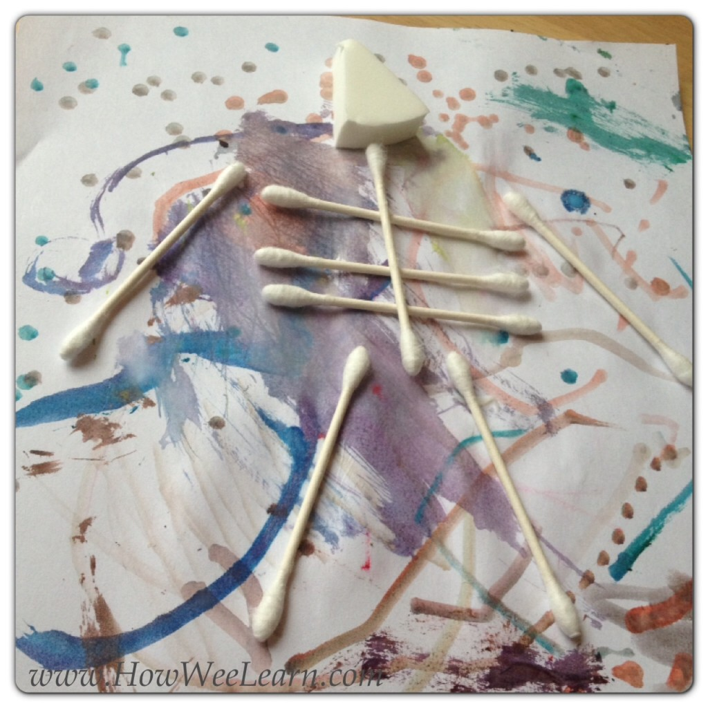 Halloween Skeleton Craft