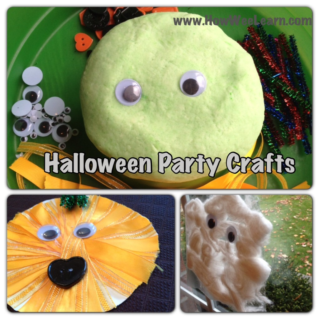 Halloween Party crafts for kids