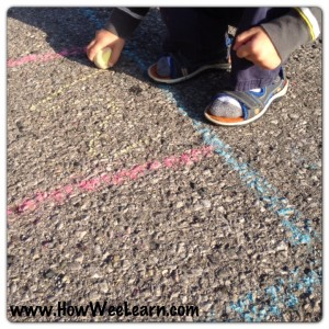Preschool Math Games: Graphing with Nature