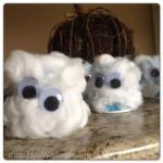 Preschool halloween ghost crafts
