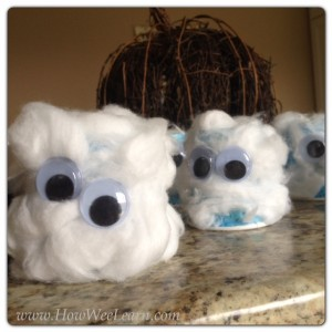 Preschool halloween ghost crafts