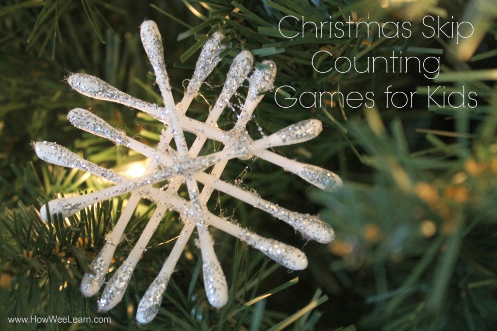 Christmas skip counting games for kids