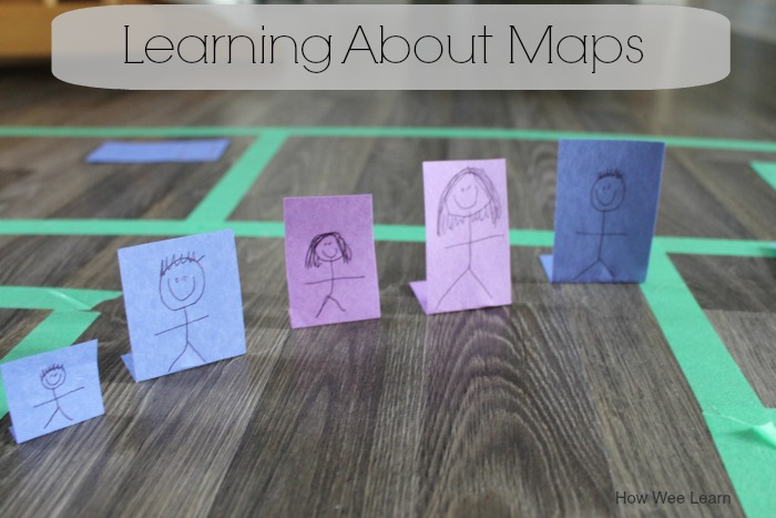 How we learn about maps for kids