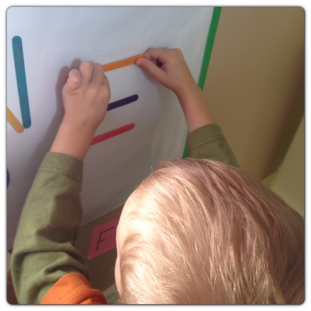 Alphabet activities for preschoolers learning letters