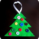 how we learn to make Christmas ornaments for preschoolers to make