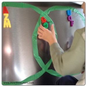learn the alphabet activities for preschoolers