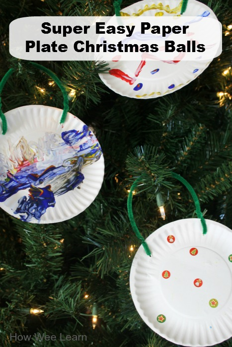 easy paper plate christmas crafts for kids - Easy Paper Christmas Decorations