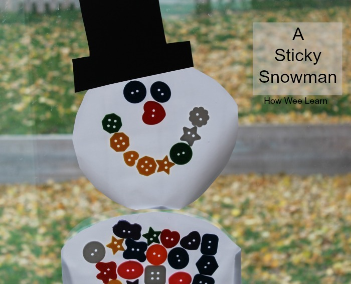 A simple snowman activity for kids that is a full of learning fun and a little magic too.