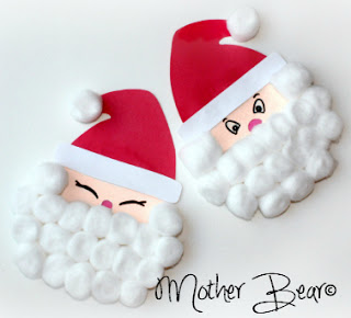 paper plate christmas crafts santa