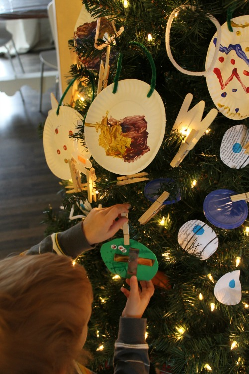 Christmas ornaments for preschoolers to make