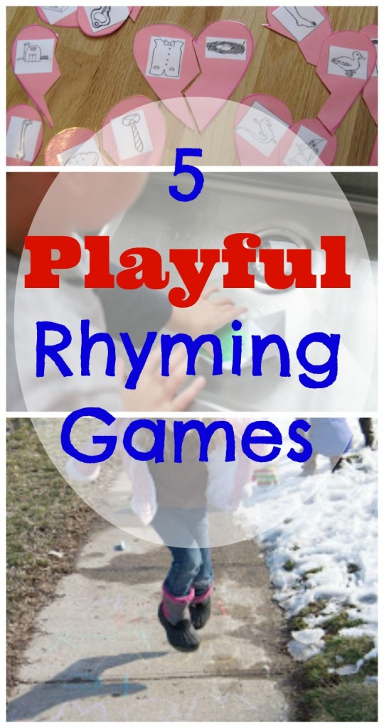 rhyming word activities