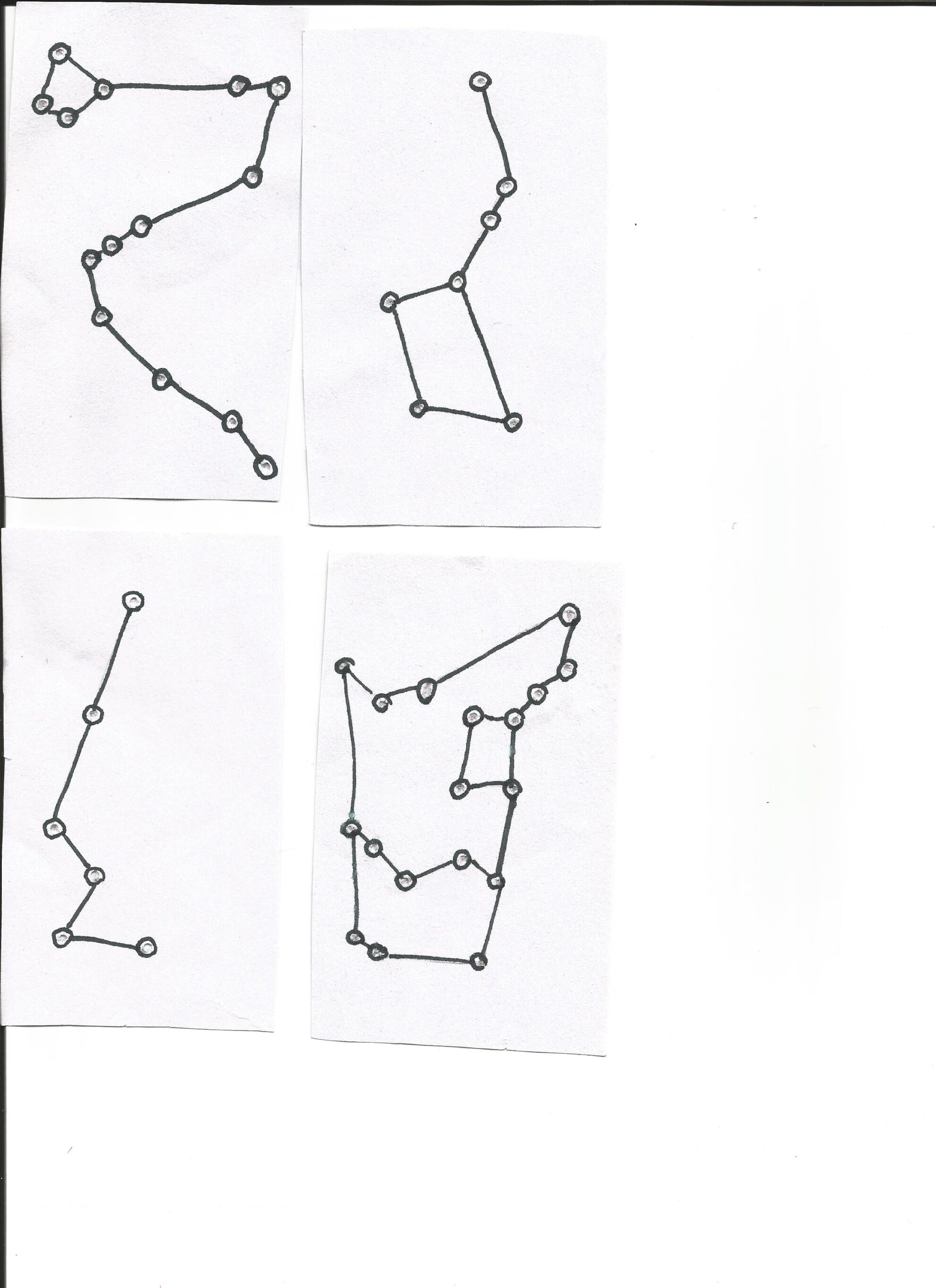 Constellation cards and myths for kids how wee learn constellations freerunsca Choice Image