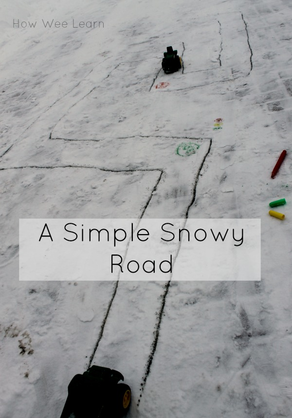 outdoor snow activity for preschoolers