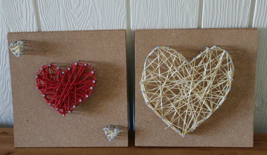 String Heart Art How Wee Learn