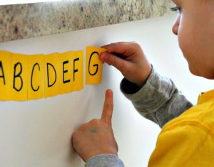 Alphabet Recognition Activities for Preschoolers