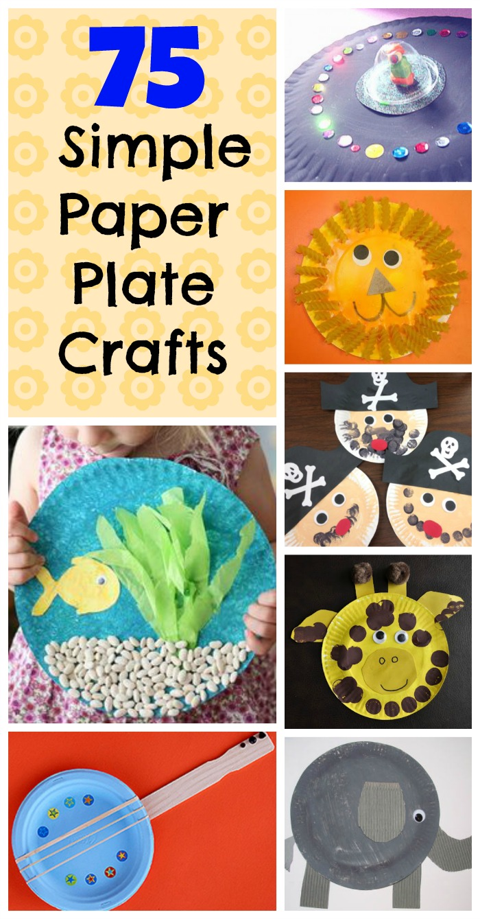 So many simple paper plate crafts for kids! These paper plate crafts are perfect for  sc 1 st  How Wee Learn : paper plate activity preschool - pezcame.com