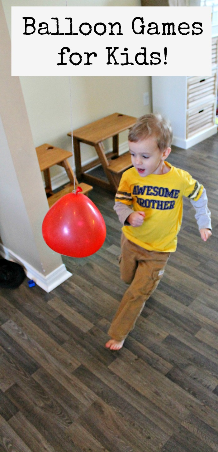 gross maotor activities with balloon games for kids