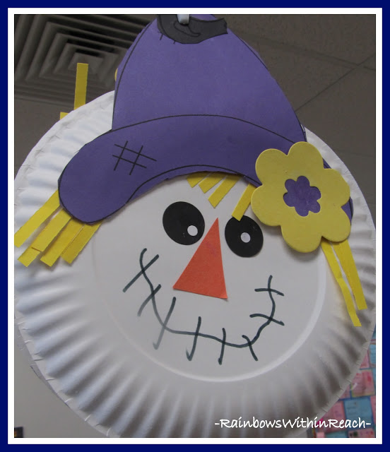 scarecrow paper plate craft & 75 Simple Paper Plate Crafts for Every Occasion! - How Wee Learn