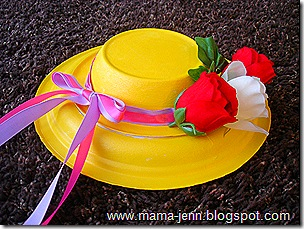 an easter hat made from paper plates & 75 Simple Paper Plate Crafts for Every Occasion! - How Wee Learn