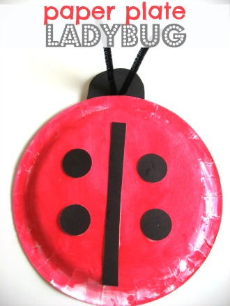 ladybug paper plate crafts for kids  sc 1 st  How Wee Learn & 75 Simple Paper Plate Crafts for Every Occasion! - How Wee Learn