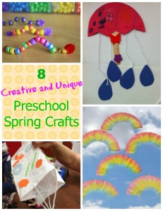 8 Creative and Unique Preschool Spring Crafts