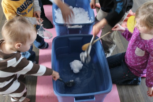 snow wxperiment for preschoolers