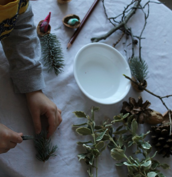 science exploration on a nature table how we learn