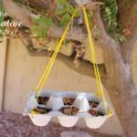 easy bird feeder for kids to make