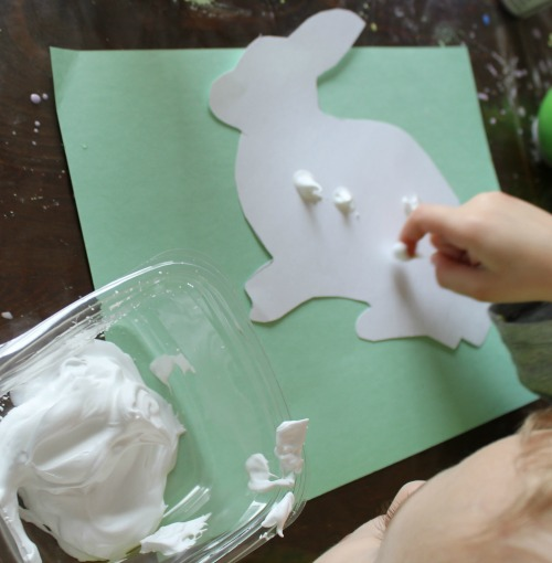 how we learn easter craft for preschoolers