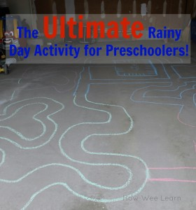 rainy day activity for preschoolers