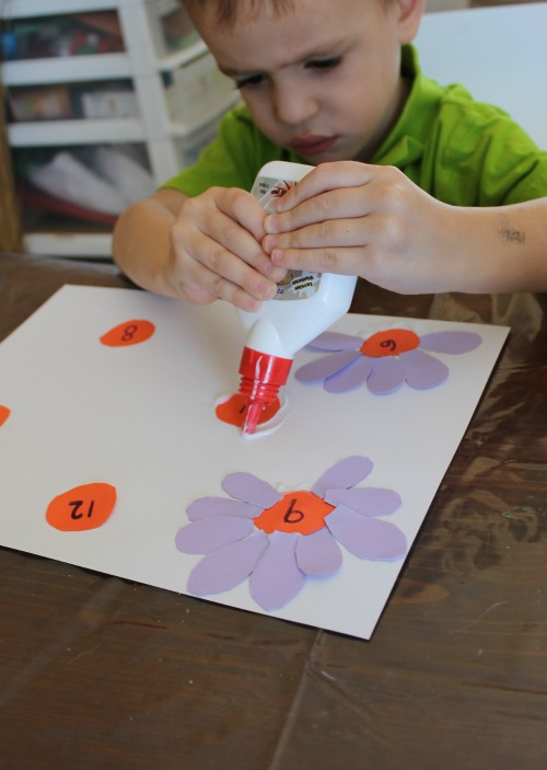 one-to-one correspondence gluing petals how we learn