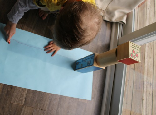 tracing shadows with preschoolers How we learn