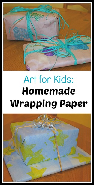wrapping paper watercolor painting ideas
