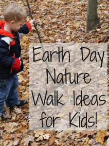 Earth Day Nature Walk Ideas for Kids
