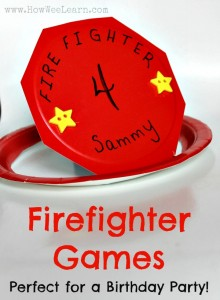 firefighter games for a firefighter birthday party