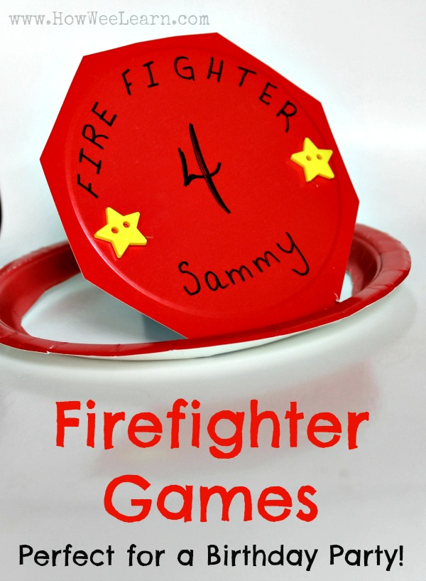 Firefighter Games For A Birthday Party