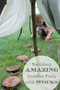 Building AMAZING Outdoor Forts with Sticks