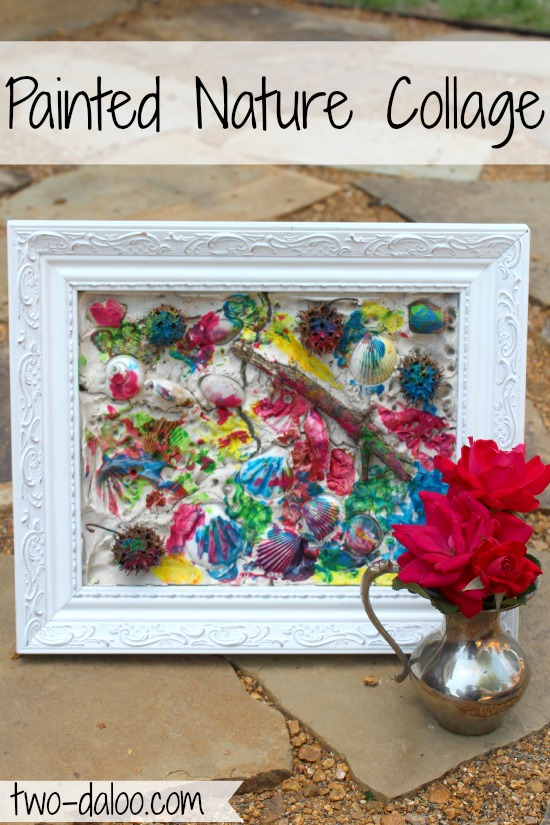 simple crafts from nature for toddlers