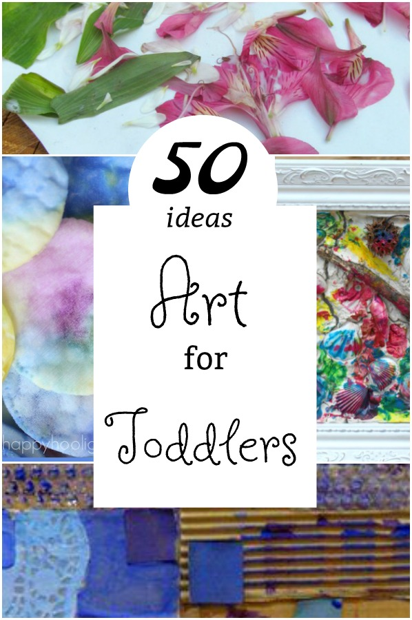 Art activities for toddlers! These are simple art and craft activities for 2 and 3 year olds. Great crafts for a rainy day! #art #craft #preschooler #toddler #parenting #daycare