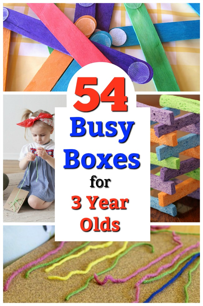 Mess free quiet time activities for preschoolers! Awesome busy boxes for 3 year olds. #quiettime #play #preschooler #preschool #parenting