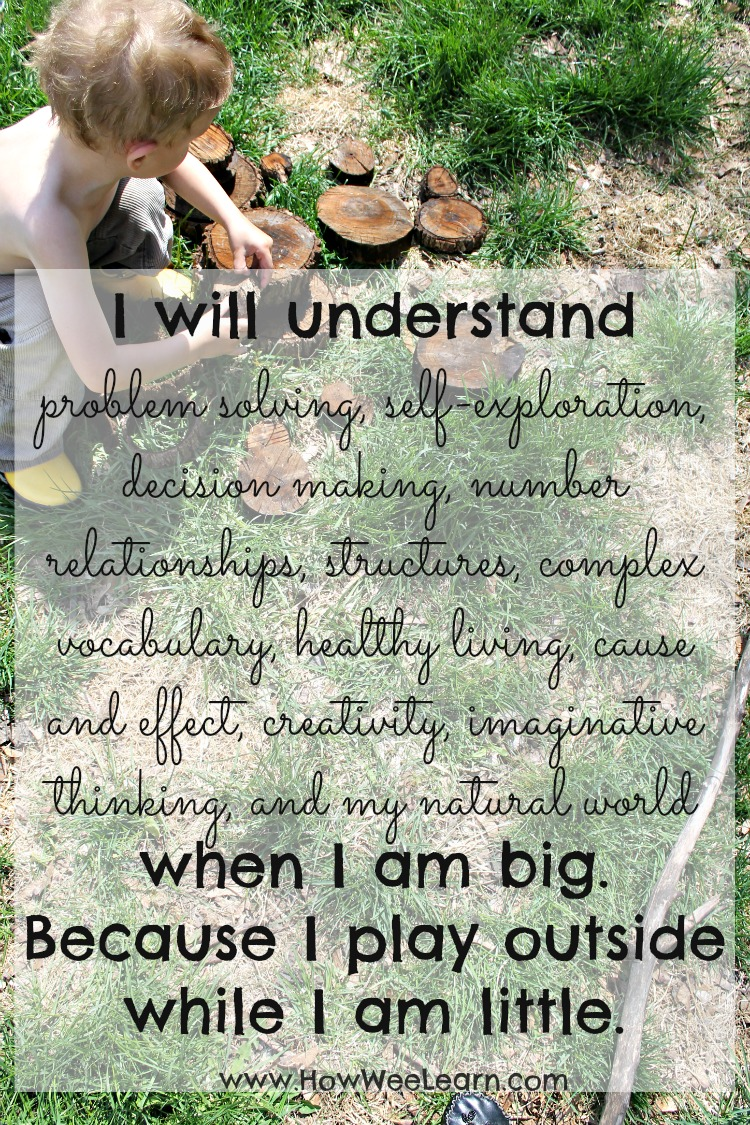 Children Love Quotes Quotes To Inspire A Love Of Nature And Play  How Wee Learn