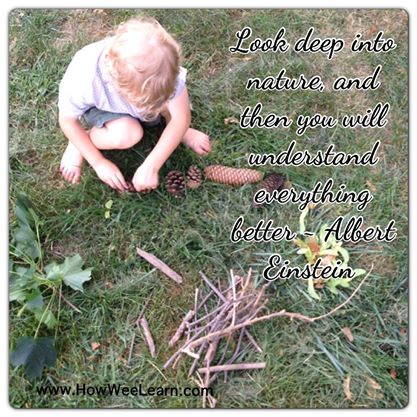 quotes to inspire a love of nature and play how wee learn